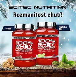 100% Whey Protein Professional - Scitec Nutrition 2350 g Jahoda+Biela čokoláda