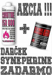 Akcia: Carnitine 150 000 Tekutý + Synephrine Zadarmo - FitBoom 1000 ml. + 100 tbl. Lemon