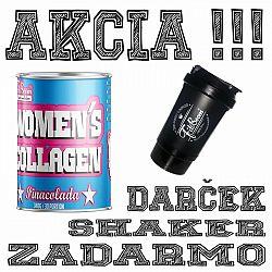 Akcia: Womens Collagen + Šejker Zadarmo - FitBoom 340 g Pinacolada