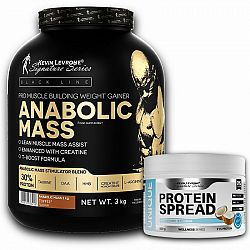 Anabolic Mass 3,0 kg - Kevin Levrone 3000 g Banana