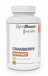Cranberry Extract - GymBeam 120 kaps.