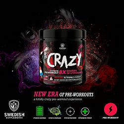 Crazy 8 - Swedish Supplements 260 g Pineapple Passion