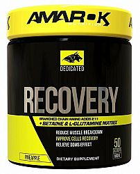 Dedicated Recovery + BCAA - Amarok Nutrition 500 g Pineapple