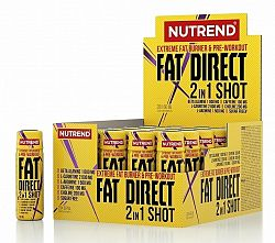 Fat Direct Shot (spaľovač plus pumpa) - Nutrend 20 x 60 ml.