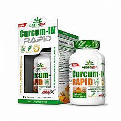 GreenDay Curcum-IN Rapid - Amix 60 kaps.