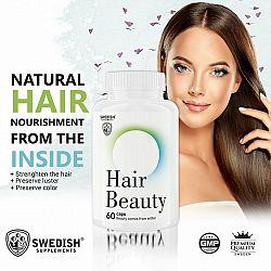 Hair Beauty - Swedish Supplements 60 kaps.