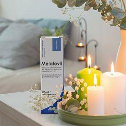 Melatovil (melatonín vo forme kvapiek) - Yamamoto  20 ml. Honey-Lemon