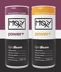 Moxy Power+ - GymBeam 330 ml. Wild Berries