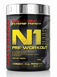 N1 Pre-Workout - Nutrend 300 g Blue Raspberry