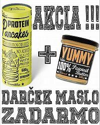 Protein Pancakes + Yummy Peanut Butter Zadarmo - FitBoom 600 g + 340 g Strawberry