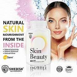 Skin Beauty - Swedish Supplements 60 kaps.