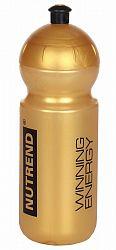 Športová fľaša zlatá - Nutrend 500 ml.