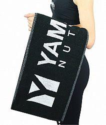 Športový uterák - Yamamoto 1 ks Čierna