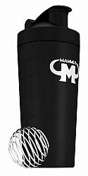 Stainless Steel Shaker (z nehrdzavejúcej ocele) - Mammut Nutrition Čierna 700 ml.
