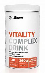 Vitality Complex Drink - GymBeam 360 g Mango Maracuja