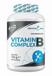 Vitamin B Complex - 6PAK Nutrition 90 tbl.