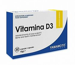 Vitamina D3 - Yamamoto 30 kaps.