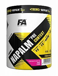 Xtreme Napalm Pre-Contest od Fitness Authority 500 g Blueberry